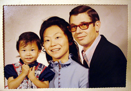 The 'rents and me, 1972